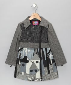 Charcoal Countryside Jacket - Zulily - would love to get this for her
