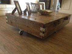 Hey, I found this really awesome Etsy listing at http://www.etsy.com/listing/157400225/factory-cart-style-coffee-table