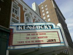 The Kentucky Theater, Lexington KY