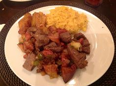 The Daily Nest: Tampa's Famous Columbia Restaurant's Filet Salteado! Copycat Recipes, Beef Recipes, Cooking Recipes, Recipies, Dinner Dishes, Main Dishes, Dinner Recipes, Colombian Dishes, Columbia Restaurant