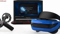 Realidade virtual da Microsoft vai ser compatível com conteúdo do Steam