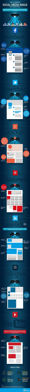 The Ultimate Social Media Image Cheatsheet #Infographic #Facebook #SocialMedia