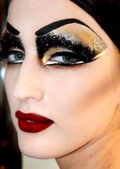drag queen makeup/ theatre arts --- Via Sugarpill's Instagram: The ...