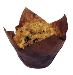 The December Muffin of the month is... Lemon-Blueberry-Streusel! Every bite is packed with wild blueberries, and the streusel topping is simply irresistible.