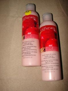 2 NATURALS Glazed Apple & Walnut Moisturizing Hand & Body Lotion -Avon  $9.88