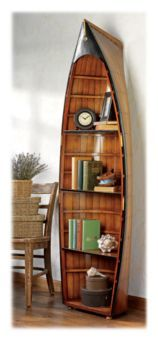 This is so incredibly awesome looking! Authentic Models Bosun's Gig Bookcase | Bass Pro Shops