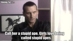 Dating Tips From the Doctor. Don't know why this made me laugh so hard, probably his expression was part of it