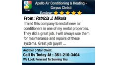 I hired this company to install new air conditioners in one of my rental properties. They...