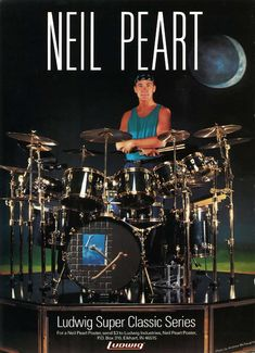 """Neil Peart: In Search Of The Right Feel"" - Modern Drummer, February 1994"