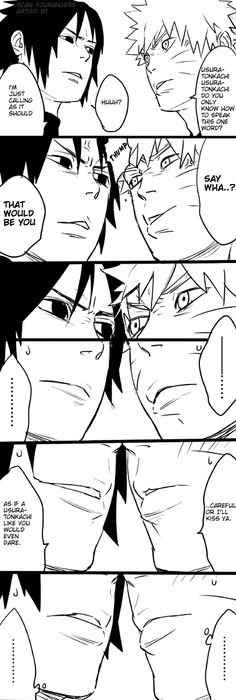 Doujinshi by blue tomato part 1 #narusasu #sasunaru