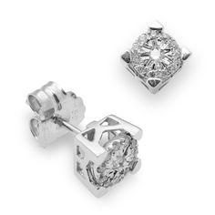 75134960337f Las 7 mejores imágenes de Pendientes de diamantes