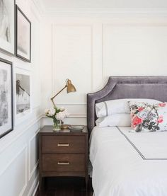 Parisian bedroom wit