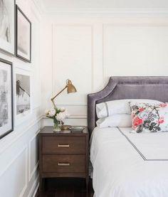 Parisian bedroom wit