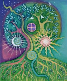 Worlds within Worlds by Faith Nolton/ Tree of Life