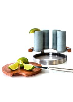 Entertain in style: tequila shooter set.