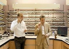 Perfumers Bruno Jovanovic and Frederic Malle, 2010