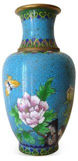 Turquoise Cloisonné‬ Vase | Love the Look | One Kings Lane