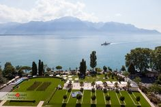 Weddings - Discover Fairmont Le Montreux Palace, hotel in 1820 Montreux and enjoy the hotel's spacious, comfortable rooms in Fairmont Hotel. Feel welcome to our elegant and luxurious hotel where we will make your stay an unforgettable experience. Montreux, Palace, Fairmont Hotel, Wedding Ceremonies, Dolores Park, Travel, Alps, Wedding, Lake Geneva