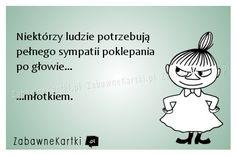 Niektórzy ludzie potrzebują... Polish Memes, Weekend Humor, Words Quotes, Funny Tshirts, Hilarious, Wattpad, Place Card Holders, Writing, Dj