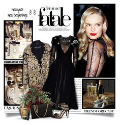 """""""Happy New Year Eve"""" by thewondersoffashion ❤ liked on Polyvore featuring Rochas, Elsa Schiaparelli, Chanel, Gianvito Rossi, Lancôme, Laura Geller and Elise Dray"""