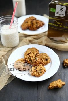 Oatmeal Raisin Cookies Oatmeal Raisin Cookies, Oatmeal Cookies, Chocolate Cookies, Pork Fillet, Food Tasting, Pastry Cake, Easy Cake Recipes, Food And Drink, Cooking Recipes