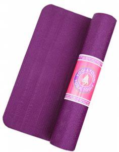 STICKY YOGA MATS ANTI SKID & SHOCK ABSORBING (Violet) - Divine Yoga Shop