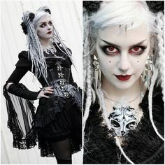 Stunning goth clothing USA Stunning goth clothing USA You are in the right place about Gothic Style pastel goth Here we offer you the most beautiful pictures about the Gothic Style costume you are loo Gothic Girls, Gothic Lolita, Gothic Corset, Dark Fashion, Gothic Fashion, Gothic People, Goth Look, Goth Makeup, Cybergoth