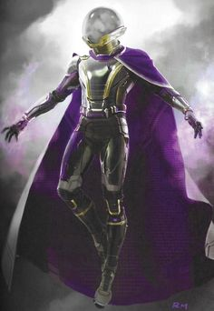 In this latest round of Spider-Man: Far From Home concept art, we see a Mysterio costume inspired by the Hulkbuster armour, one that seemingly pays homage to Ghost Rider, and various other alternate takes! Marvel Concept Art, Marvel Art, Marvel Heroes, Marvel Villains, Marvel Characters, Marvel Movies, Mysterio Marvel, Spiderman Art, Costume