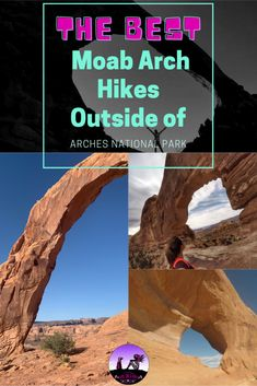 The Best Moab Arch Hikes Outside of Arches National Park - Girl on a Hike