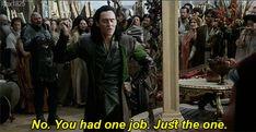 Loki from Thor: Ragnarok. Tom and Loki.