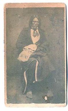 Nes-i-ri-pat (aka Bloody Knife) Hunkpapa/Arikara - before 1876