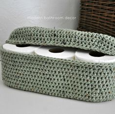 Rustic Green Spare Roll Holder (Shop Link in Bio) #neatandtidy #organizing #smallspacesolutions #moderndesign #modernliving #moderndesigns #InteriorDesign #spacesavingsolutions #tinyhouse #storagesolutions #crocheteddecor #bathroomdecor #bathroomstorage #bathroomstall #toiletpaperholder #etsyseller #etsyshopowner #etsy #etsyhandmade #AandBDesignStudio