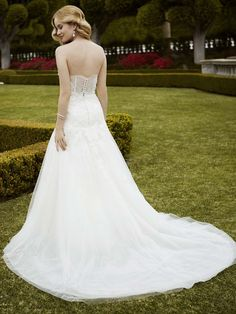 2016 Blue by Enzoani, Irondale, Back View