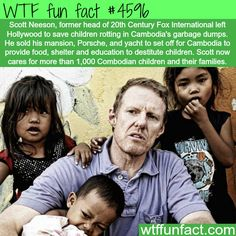 People who will restore your faith in humanity -   WTF fun facts Amazing People, Amazing Person, Amazing Man, Good People, Smart People, Inspiring People, Random Facts, Wtf Fun Facts, True Facts