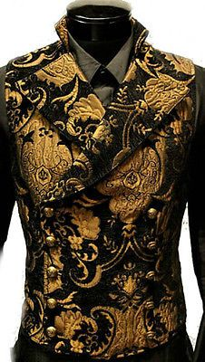 SHRINE GOTHIC VAMPIRE CAVALIER VEST JACKET VICTORIAN TAPESTRY GOTH STEAMPUNK | Clothing, Shoes & Accessories, Men's Clothing, Vests | eBay!
