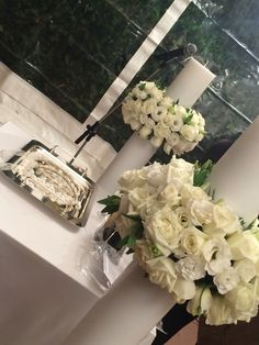 Sweet Memories Events Wedding candles White roses & lysianthus George&Elena Wedding Memorial, White Candles, Sweet Memories, White Roses, Wedding Things, Unique Weddings, Centerpieces, Events, Happenings