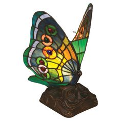 Found it at Wayfair - Butterfly Table Lamp in Copper