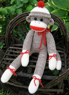 i have wanted a sock monkey for years