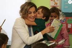 Queen Letizia of Spain attended the opening of the 2015/2016 school year in Palencia, Spain - 21.09.15