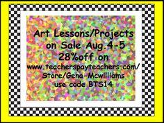 BUY ART lessons!