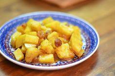 Moroccan Sweet Potato Salad With Cinnamon, Saffron and Honey