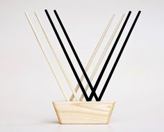 Functional Kitchen Art: Chopstick Holder from Less&More