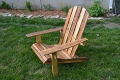 How to Make a Pallet Chair? | Pallets Designs