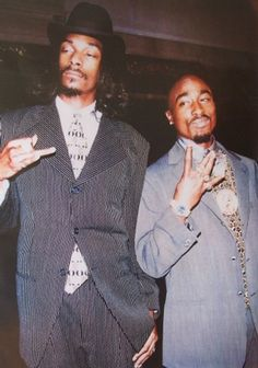 Tupac and Snoop Suits Poster - TshirtNow.net