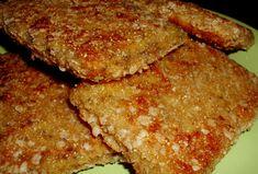 Milanesas de Seitán veganas, muy ricas y saludables.