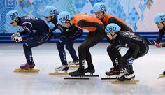 En brons voor Sjinkie Knegt met Shorttrack op de 1000 meter. - Plazilla.com