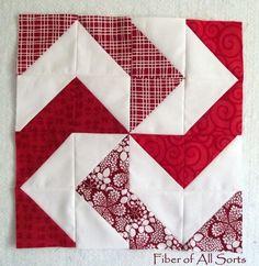 Hst half square triangle quilt block