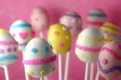 SO CUTE Easter Cake Pops <3