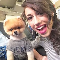 """Jiffpom with Colleen Evans aka Miranda Sings check out her new show """"Haters Back Off"""" on Netflix today!"""