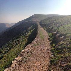 Ancient road to Jericho (Samaritan travels)                                                                                                                                                                                 More